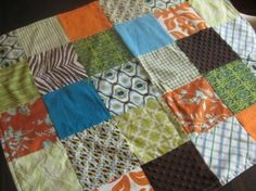 Patchwork quilt by marsha