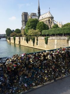 Inspiration: Pont de l'Archevêché - the Lock Bridge