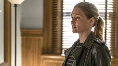 The 'Revolution' grad appeared in two episodes of the NBC cop drama's fourth season.    Det. Hailey Upton is sticking around at Chicago P.D. Revolution alum Tracy Spiridakos has been promoted to series regular for the NBC cop drama's fifth season, The Hollywood Reporter...