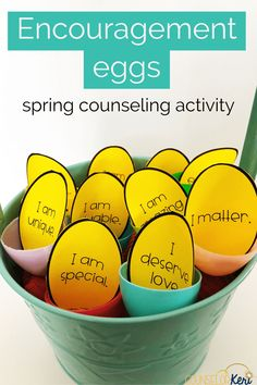 Grab some plastic eggs, and you've got tons of spring counseling activities! Your students will love these activities and lessons that are perfect for small groups, individuals, or classroom guidance.