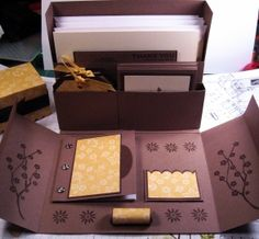 stationery box set
