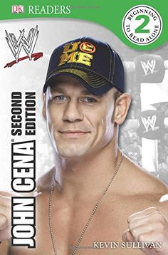 """DK Reader Level 2: WWE John Cena Second Edition (DK Readers) by Kevin Sullivan. John Cena is one of the most popular Superstars in WWE history. Discover the ins and outs of what makes him """"The Champ"""", his desire, work ethic and refusal to ever give up. Learn about all his greatest matches, moments and triumphs, as well as fun facts."""
