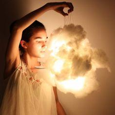 Cotton LED Light.. I would rain drops or a rainbow.