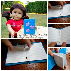 make a doll binder