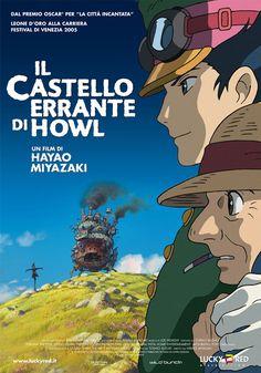 Il castello errante di Howl di Hayao Miyazaki