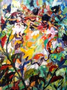 "Saatchi Art Artist Nada  Sucur Jovanovic; Painting, ""Bahus"" #art"