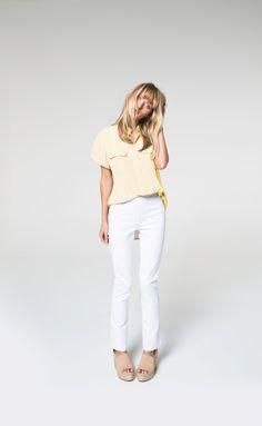 White Jeans, The Selection, Pants, Shopping, Tops, Women, Fashion, Trouser Pants, Moda