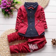 Fashion Spring Autumn Toddler Clothing Sets