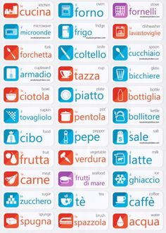 Italian Language Learning Stickers Plus Italian Grammar, Italian Vocabulary, Italian Words, Spanish Vocabulary, Spanish Language Learning, Learn A New Language, Learn Italian Language, Italian Quotes, Portuguese Lessons