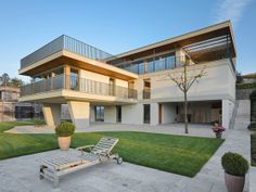 Open and light architecture, made in Swiss ...Zen Villa