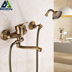 Cheap taps, Buy Quality taps shower directly from China taps sink Suppliers: Bathroom Mixer cm Brass Long Nose outlet shower faucet Single Handle Wall Mounted Bathtub Sink Faucet Taps Mop Sink, Shower Faucet, Wall Mounted Tv, Bathroom Fixtures, Brass Faucet, Sink Faucets, Wall Mounted Sink, Sink, Wall Mount