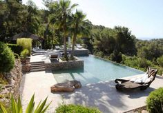 Terrace pool summer inspiration ~ Outdoor living Mediterranean finca style byCOCOON.com #COCOON Dutch designer brand.