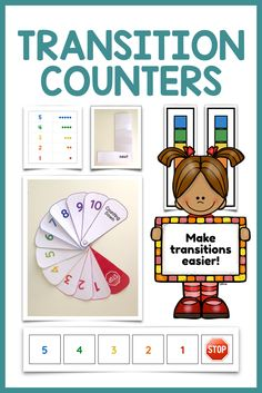 Got students who need help transitioning between tasks or locations? These simple and easy-to-make visual supports guide students through a transition using a countdown sequence.