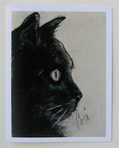 inky needs his own stationery--- to send to all his kitty friends