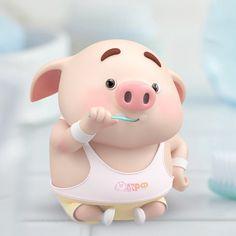 Pig Wallpaper, Snoopy Wallpaper, Animal Wallpaper, Cute Piglets, Pig Drawing, Pig Illustration, Animated Dragon, Mini Pigs, Baby Pigs