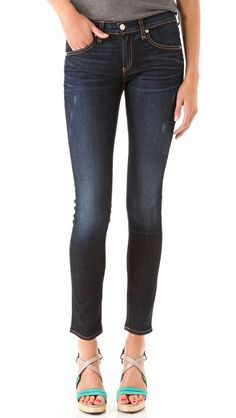 Rag & Bone Skinny Jeans in Kensington - my first pair of R&B and I'm in love! They are incredible
