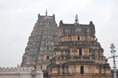 Virupaksha Temple - the twin towers