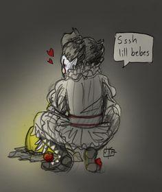 shigeru onda et audrey st yves - Bing images St Yves, Roman, It The Clown Movie, Au Ideas, Le Clown, Pennywise The Dancing Clown, Fan Art, Clowns, Horror Movies