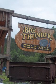 "Black Hills most original mining experience - dad and I can recreate ""paint your wagon here"" and sing the whole time we mine - Keystone, SD"