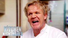 Disgusting Food Makes Gordon Very Sick & Very Angry - Kitchen Nightmares Kitchen Nightmares, Very Angry, Sick, Books, Youtube, Blame, Corner, Tv, Libros