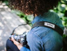 ONA camera strap supports charity:water