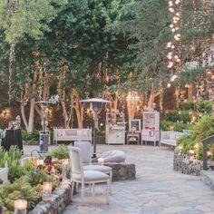 mariage original : idée de déco de jardin