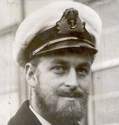 hrhsussex:  Beardy Windsor Men-Prince Philip during WWII