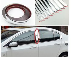 Car Chrome Decor Strip Sticker Silver Auto Styling Trim Strip Interior Exterior Decoration 6mm/8mm/10mm/15mm/20mm/22mm/25mm/30mm. Yesterday's price: US $4.40 (3.82 EUR). Today's price: US $2.38 (2.06 EUR). Discount: 46%. Car Tools, Car Painting, Interior Accessories, Interior And Exterior, Exterior Decoration, Chrome, Lights, Silver, Cars
