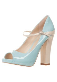 Nine West - TOPSHOE - Peeptoes - Blauw