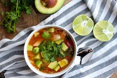Crockpot Chicken, Avocado, and Lime Soup – The Defined Dish