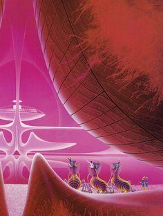 Sci-fi illustrations by Shusei Nagaoka part II - Retrofuturism