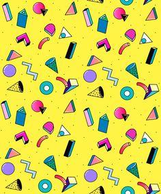 Yokopium | Dogmamoda #pattern #80s #style