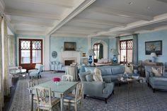 Living room ~ Robert AM Stern architect ~ 192 & 187 Mishaum Point Rd, Dartmouth, MA 02748 is For Sale - Zillow