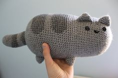 Free Pattern: Pusheen the cat pattern by Emma H