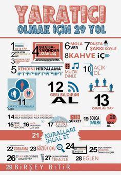 29 ways to be creative Web Design, Logo Design, Life Learning, Instagram Story Ideas, Self Improvement, Lol, Templates, Business, Creative