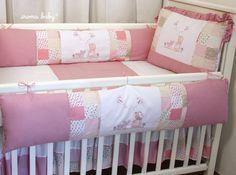 Kit berço americano 100% algodão Camponesa - Iroma Baby