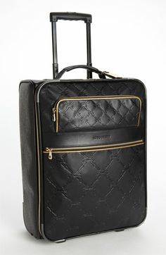 Longchamp 'LM Cuir' Wheeled Suitcase available at #Nordstrom
