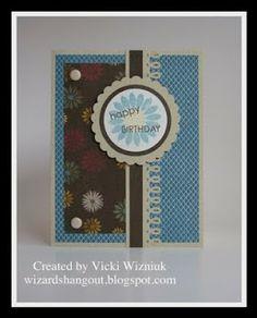 Wizard's Hangout: Grace Birthday Card  #CTMH