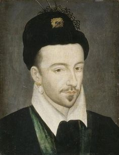 13 février 1575 : sacre d'Henri III, roi de France. - Henry III of France, third son of Henry II and Catherine de' Medici, became king after the deaths of his two older brothers, Francis and Charles.