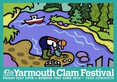 Who would have thought that a simple Maine clam could draw as much attention as it does at the Annual Yarmouth Clam Festival.