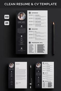 Cv Design Template Free, Modern Resume Template, Cv Template, Resume Templates, Icones Cv, Cv Curriculum, Portfolio Resume, Portfolio Design, Graphic Design Resume