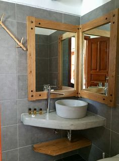 Simple in design but elegant and timeless. Early Check In, Greece, Bathrooms, Ios, Villa, Island, Elegant, Simple, Design