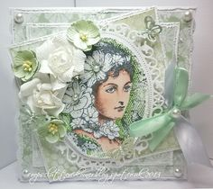 I hope you have all had a nice Easter weekend.back to work and normality tomorrow though. Today i am sharing a card with. Elizabeth Bennett, Artist Trading Cards, Vintage Cards, Cardmaking, Decorative Boxes, Paper Crafts, Easter Weekend, Scrapbook, Ink