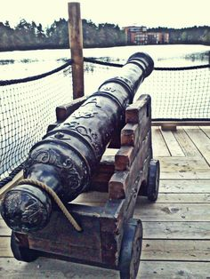 Pirate canon  [ Swordnarmory.com ] #Pirate #weapons #swords
