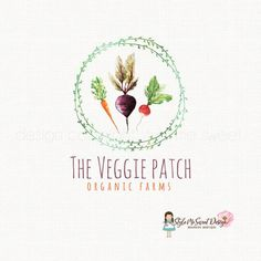 veggie logo design beet logo design carrot by stylemesweetdesign Did you know Valhalla is building and off grid school?! www.valhallamovement.com/slc