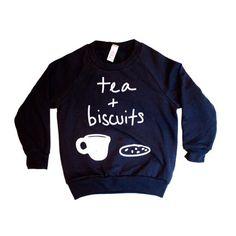 """CLOTHING| You call it tea time we call it hug time. #milkliving"""