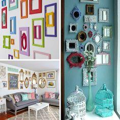 Decor   40 ideias para decorar uma parede utilizando molduras