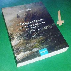 #Livro #medieval nacional! Do autor Zeca Lima. Resenha em breve no #blogeuinsisto #book #instabook #bookholic #bookstagram #books #livros
