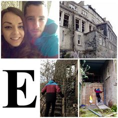 E is for Explore Somewhere New! Whilst away for the weekend in our little cottage, we came across an old abandoned hotel that we decided to have a look around! #AlphabetDating #AlphabetDates