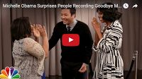 SCG VIRALS: Michelle Obama Surprises People Recording Goodbye Messages to Her